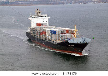 Cargo ship WARNOW VAQUITA