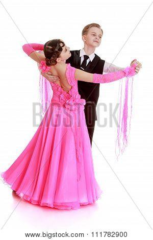 beautiful couple dance