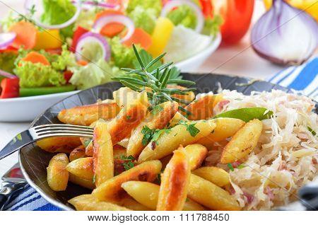 Potato noodles