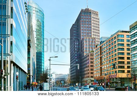 Potsdamer Platz. Berlin, Germany