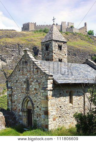 All Saints Chapel And Tourbillon Castle.