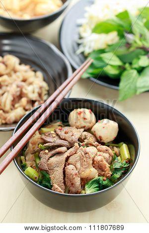 Thai Pork Noodle