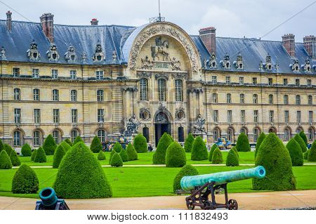 Les Invalids buildings, Paris, France