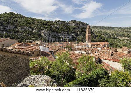Panoramic View Of Xiva De Morella