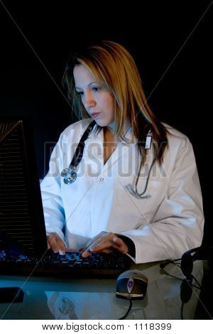 Doctor At Computer 2
