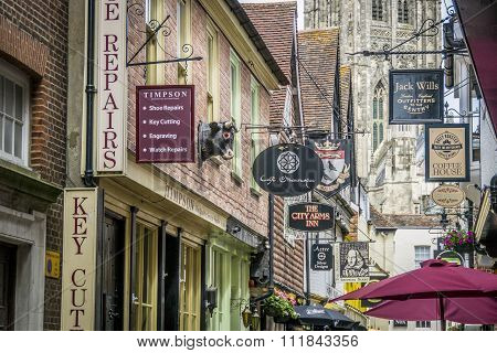 Butchery Lane, Canterbury, Uk