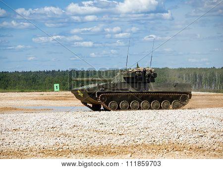 125-mm self-propelled antitank gun (SPTP)