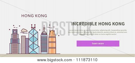 Web Page Chinese City of Incredible Hong Kong