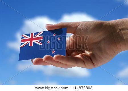 Small Flag Of New Zeland