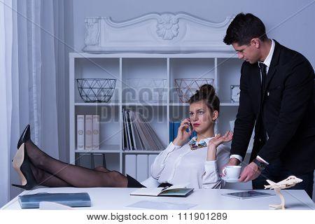 Arrogant Business Woman