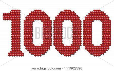 Thousand Red Tokens