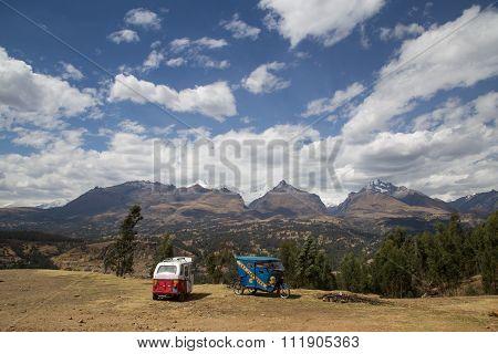 Panoramic View Cordillera Blanca