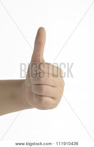 Thumbs Up - Female Hand