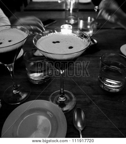 espresso expresso coffee martini cocktail