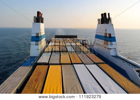 Cargo Ferry For Transport Trucks