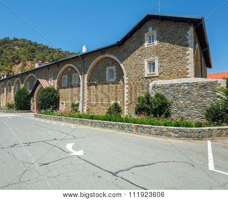 Famous Kykkos Monastery, Cyprus