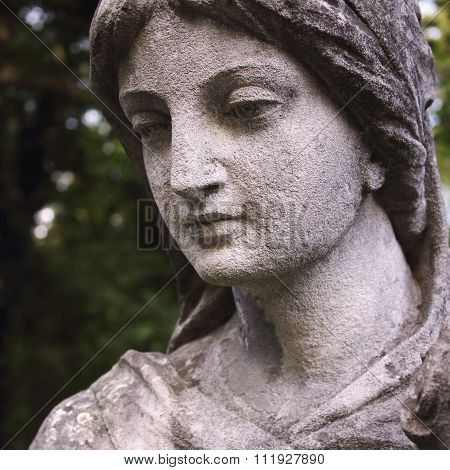 Face Of  Goddess Of Love Aphrodite (venus)