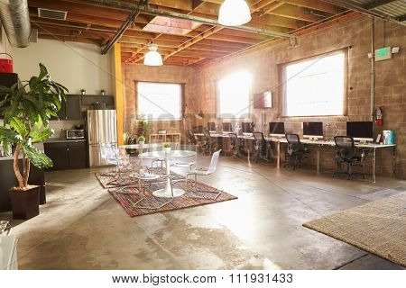 Empty Interior Of Modern Design Office