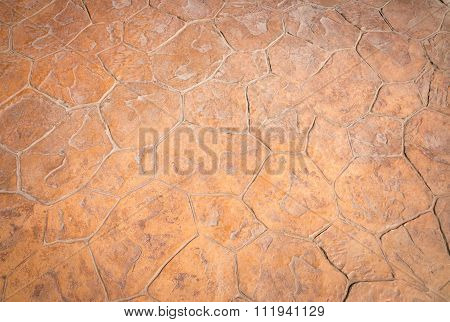 Abstract Background, Concrete Stamp