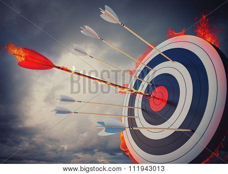 Fire target