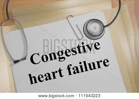 Congestive Heart Failure Concept