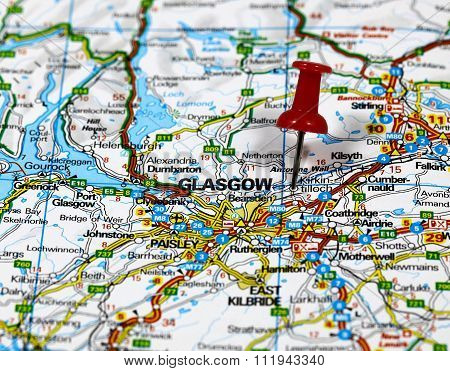Glasgow in Scotland