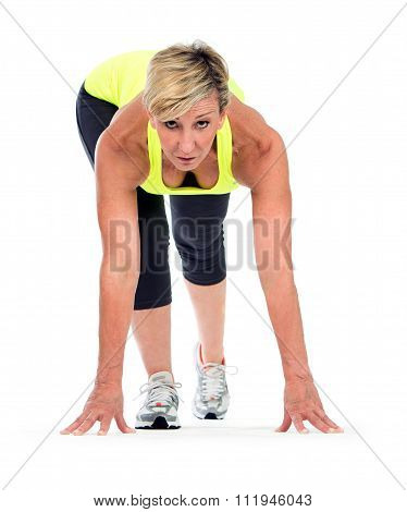 middle age woman fitness