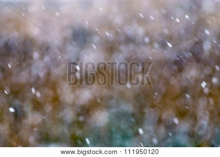 Abstract Indistinct Spotty Background In Pale Opaque Tones