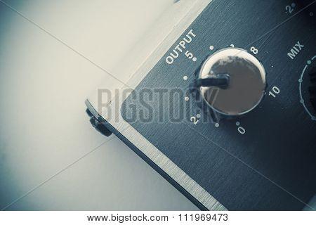 Output Volume Button