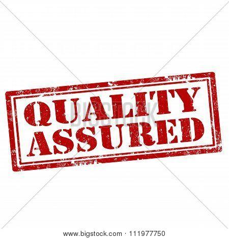 Quality Assured-stamp
