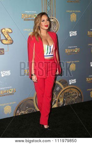LOS ANGELES - DEC 09:  Poppy Montgomery at the Cirque Du Soleil's