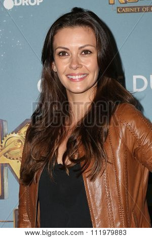 LOS ANGELES - DEC 09:  Olga Fonda at the Cirque Du Soleil's