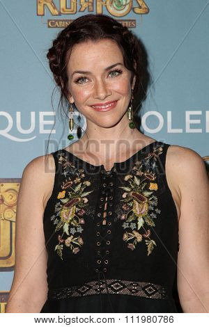 LOS ANGELES - DEC 09:  Annie Wersching at the Cirque Du Soleil's