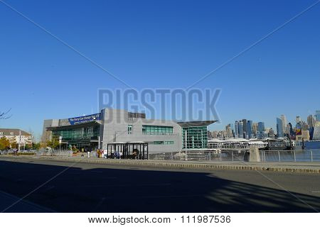 Port Imperial Ferry Terminal in New Jersey
