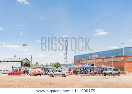 Flea Market At Bobbiespark