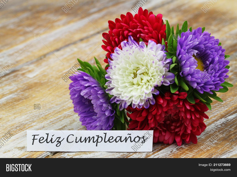 Feliz Cumpleanos Image Photo Free Trial Bigstock