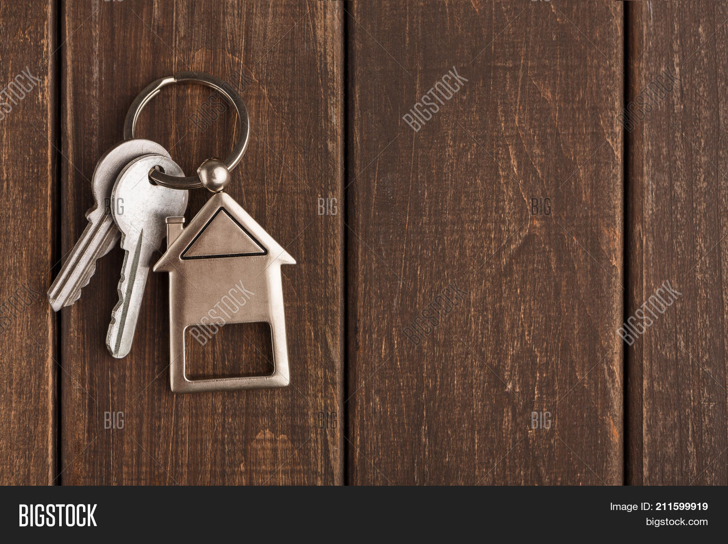 Two Steel Keys House Image & Photo (Free Trial) | Bigstock