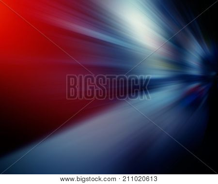 radial light and rays composition dark background