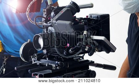 4K High Definition Video Camera Shooting.
