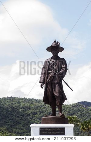Ratchapak Park Hua Hin king Buddha Yod fa Chulalok Rama 1 the great