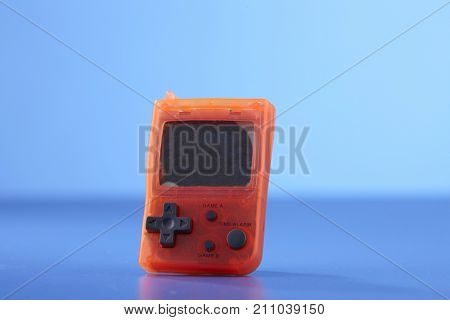 outdated handheld electronic game