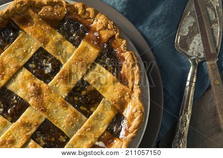 Sweet Homemade Mincemeat Pie