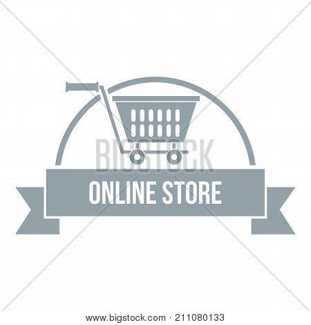 E business logo. Simple illustration of e business vector logo for web