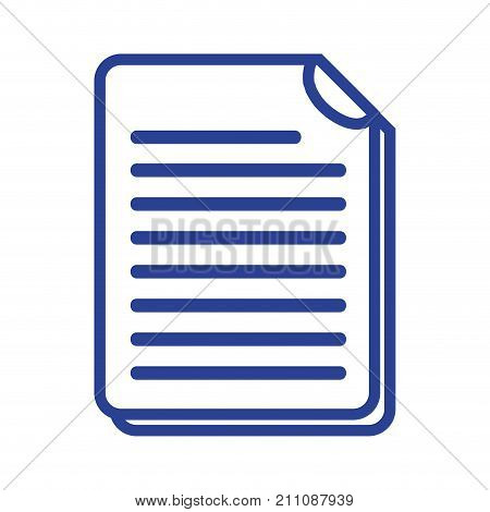 line business document information to corporate informtion vector illustration