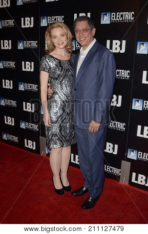 LOS ANGELES - OCT 24:  Lisa Brenner, Dean Devlin at the