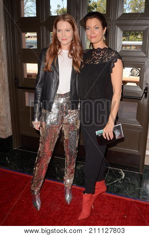 LOS ANGELES - OCT 15:  Darby Stanchfield, Bellamy Young at the