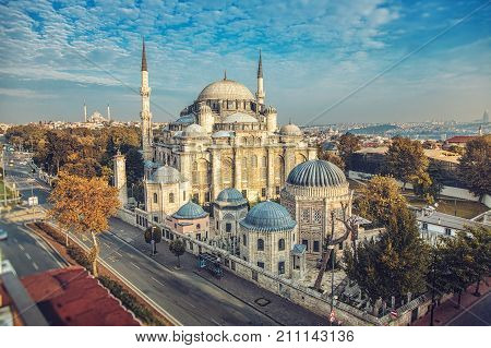 The Sehzade Mosque or Prince's Mosque is an Ottoman imperial mosque located in the district of Fatih, Istanbul, Turkey