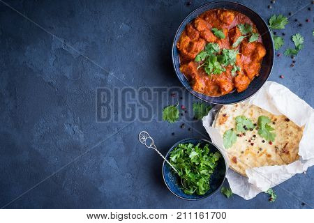 Chicken Tikka Masala Background