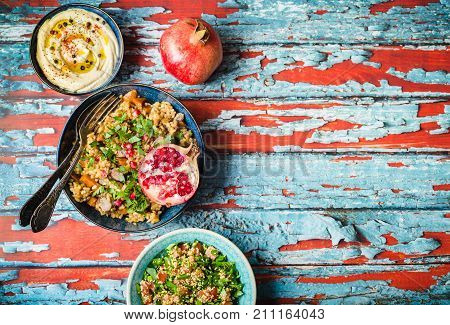 Middle Eastern Food Table