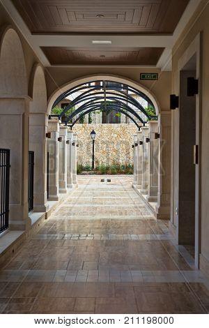 Corridor In A Luxury Hotel